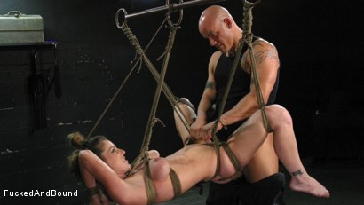 Photo number 15 from Kayla Paige is Horny and Latex Clad shot for Fucked and Bound on Kink.com. Featuring Derrick Pierce and Kayla Paige in hardcore BDSM & Fetish porn.