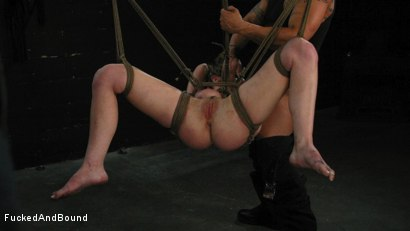 Photo number 17 from Kayla Paige is Horny and Latex Clad shot for Fucked and Bound on Kink.com. Featuring Derrick Pierce and Kayla Paige in hardcore BDSM & Fetish porn.