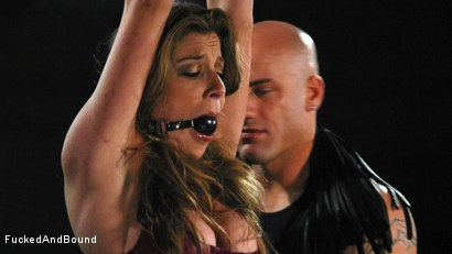 Photo number 1 from Kayla Paige is Horny and Latex Clad shot for Fucked and Bound on Kink.com. Featuring Derrick Pierce and Kayla Paige in hardcore BDSM & Fetish porn.