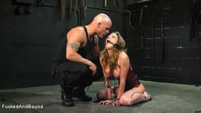 Photo number 8 from Kayla Paige is Horny and Latex Clad shot for Fucked and Bound on Kink.com. Featuring Derrick Pierce and Kayla Paige in hardcore BDSM & Fetish porn.