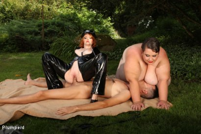 Photo number 17 from SSBBW & Chubby Combo shot for Plumperd on Kink.com. Featuring Monika, Amy and Martin in hardcore BDSM & Fetish porn.