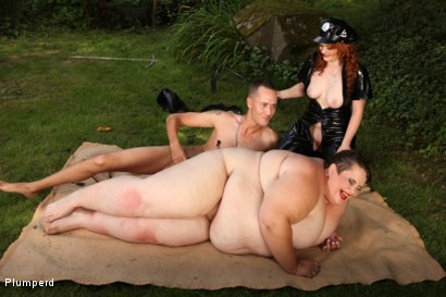 Photo number 20 from SSBBW & Chubby Combo shot for Plumperd on Kink.com. Featuring Monika, Amy and Martin in hardcore BDSM & Fetish porn.