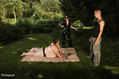 Photo number 3 from SSBBW & Chubby Combo shot for Plumperd on Kink.com. Featuring Monika, Amy and Martin in hardcore BDSM & Fetish porn.