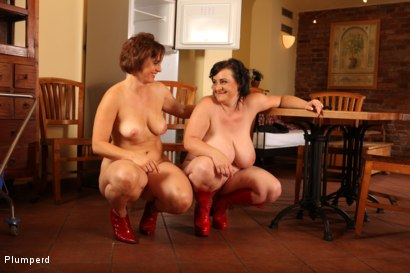 Photo number 25 from Mature Fatties shot for Plumperd on Kink.com. Featuring Dragan, Magalie and Martine in hardcore BDSM & Fetish porn.