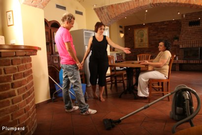 Photo number 4 from Mature Fatties shot for Plumperd on Kink.com. Featuring Dragan, Magalie and Martine in hardcore BDSM & Fetish porn.