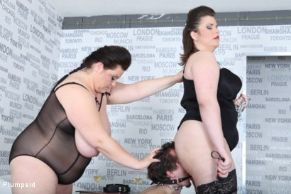 Photo number 11 from Strap-On Ass Fuck shot for Plumperd on Kink.com. Featuring Harry, Lucrecia and Viktorie in hardcore BDSM & Fetish porn.