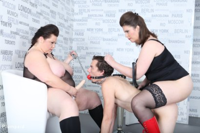 Photo number 12 from Strap-On Ass Fuck shot for Plumperd on Kink.com. Featuring Harry, Lucrecia and Viktorie in hardcore BDSM & Fetish porn.