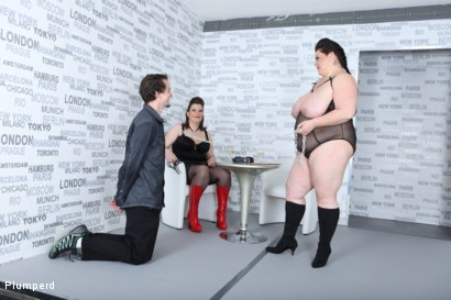 Photo number 6 from Strap-On Ass Fuck shot for Plumperd on Kink.com. Featuring Harry, Lucrecia and Viktorie in hardcore BDSM & Fetish porn.