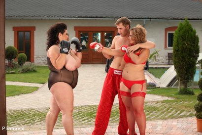 Photo number 4 from BBW Boxers shot for Plumperd on Kink.com. Featuring Viktorie, Marco Bon Phoenix and Jenny in hardcore BDSM & Fetish porn.