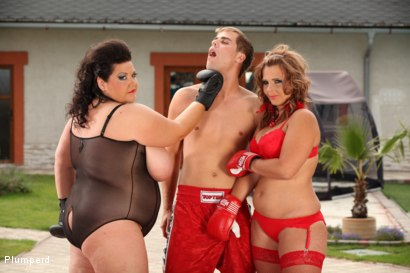 Photo number 6 from BBW Boxers shot for Plumperd on Kink.com. Featuring Viktorie, Marco Bon Phoenix and Jenny in hardcore BDSM & Fetish porn.