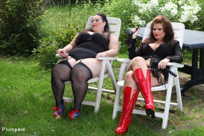 Photo number 1 from A Sub Gardener shot for Plumperd on Kink.com. Featuring Marta, Jitka and Jan in hardcore BDSM & Fetish porn.