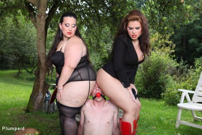 Photo number 13 from A Sub Gardener shot for Plumperd on Kink.com. Featuring Marta, Jitka and Jan in hardcore BDSM & Fetish porn.