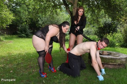 Photo number 5 from A Sub Gardener shot for Plumperd on Kink.com. Featuring Marta, Jitka and Jan in hardcore BDSM & Fetish porn.
