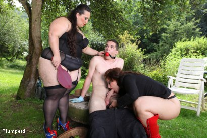 Photo number 9 from A Sub Gardener shot for Plumperd on Kink.com. Featuring Marta, Jitka and Jan in hardcore BDSM & Fetish porn.