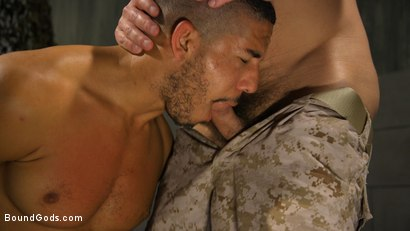 Photo number 14 from Lazy Soldier Gets Humiliated, Punished, Fucked shot for Bound Gods on Kink.com. Featuring Mike Maverick and Dirk Caber in hardcore BDSM & Fetish porn.