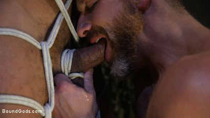 Photo number 17 from Lazy Soldier Gets Humiliated, Punished, Fucked shot for Bound Gods on Kink.com. Featuring Mike Maverick and Dirk Caber in hardcore BDSM & Fetish porn.