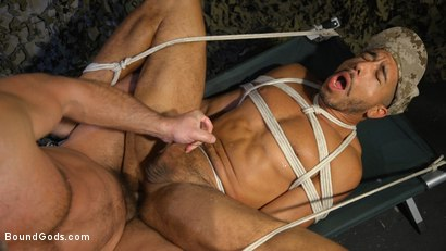 Photo number 9 from Lazy Soldier Gets Humiliated, Punished, Fucked shot for Bound Gods on Kink.com. Featuring Mike Maverick and Dirk Caber in hardcore BDSM & Fetish porn.