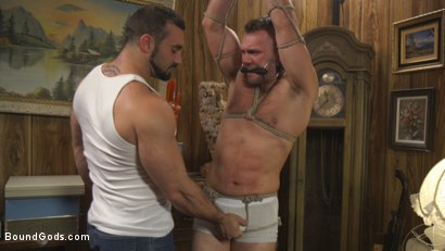 Photo number 1 from Straight Stud Blaze Austin Paying In Pain shot for Bound Gods on Kink.com. Featuring Jaxton Wheeler and Blaze Austin in hardcore BDSM & Fetish porn.