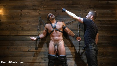 Photo number 14 from FIRST SHOOT for Muscle Stud Chad Stone shot for Bound Gods on Kink.com. Featuring Chad Stone , Dominic Pacifico and Sebastian Keys in hardcore BDSM & Fetish porn.