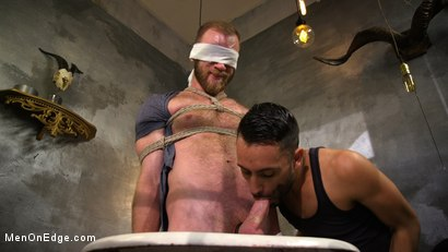 Photo number 7 from Hairy Experienced Edger Meets His Match shot for Men On Edge on Kink.com. Featuring Peter Marcus in hardcore BDSM & Fetish porn.