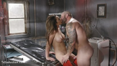 Photo number 28 from Tender Loving Care: Nurse Chanel Cures Colby With Her Hard Driving cock shot for TS Seduction on Kink.com. Featuring Chanel Santini and Colby Jansen in hardcore BDSM & Fetish porn.