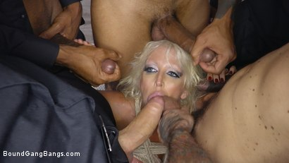 Photo number 8 from MILF Dominatrix Takedown: Gigantic Titted Dominatrix Gets Bound & DP'd shot for Bound Gang Bangs on Kink.com. Featuring Eddie Jaye, Sam Coxxx, Rico Strong, Alura Jenson, Alex Legend and Slim Poke in hardcore BDSM & Fetish porn.