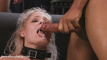 Photo number 31 from Caged Gangbang Slut: Submissive Lisey Sweet Gets Holes Cracked Open shot for Bound Gang Bangs on Kink.com. Featuring Lisey Sweet , Donny Sins, Isiah Maxwell, Ricky Johnson, Justin Hunt and Nathan Bronson in hardcore BDSM & Fetish porn.