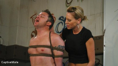 Photo number 12 from FemDomme Audrey Leigh Gives Dick Richards Low Grades shot for Captive Male on Kink.com. Featuring Audrey Leigh and Dick Richards in hardcore BDSM & Fetish porn.