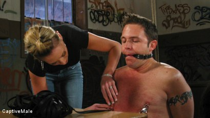 Photo number 5 from FemDomme Audrey Leigh Gives Dick Richards Low Grades shot for Captive Male on Kink.com. Featuring Audrey Leigh and Dick Richards in hardcore BDSM & Fetish porn.