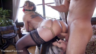 Photo number 19 from Only One way to Find Out: Step-Daughter Anally Trained By Busty Step-Mother shot for The Upper Floor on Kink.com. Featuring Seth Gamble, Dee Williams and Aspen Ora in hardcore BDSM & Fetish porn.