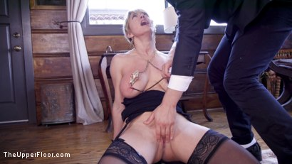 Photo number 24 from Only One way to Find Out: Step-Daughter Anally Trained By Busty Step-Mother shot for The Upper Floor on Kink.com. Featuring Seth Gamble, Dee Williams and Aspen Ora in hardcore BDSM & Fetish porn.