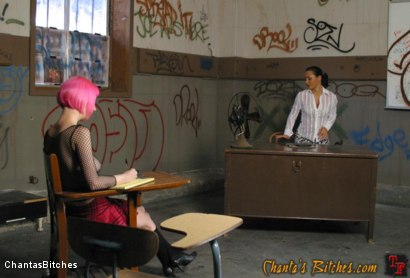 Photo number 2 from Letterhead Cherry Torn Gets Caught Tagging shot for Chantas Bitches on Kink.com. Featuring Cherry Torn and Sandra Romain in hardcore BDSM & Fetish porn.