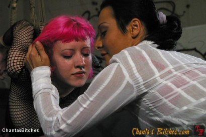Photo number 13 from Letterhead Cherry Torn Gets Caught Tagging shot for Chantas Bitches on Kink.com. Featuring Cherry Torn and Sandra Romain in hardcore BDSM & Fetish porn.