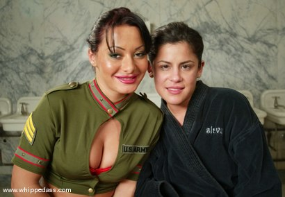 Photo number 15 from Michele Avanti and Sandra Romain shot for Whipped Ass on Kink.com. Featuring Sandra Romain and Michele Avanti in hardcore BDSM & Fetish porn.