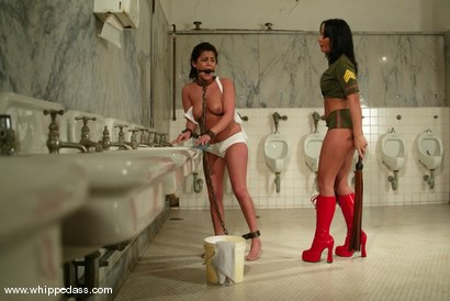 Photo number 2 from Michele Avanti and Sandra Romain shot for Whipped Ass on Kink.com. Featuring Sandra Romain and Michele Avanti in hardcore BDSM & Fetish porn.