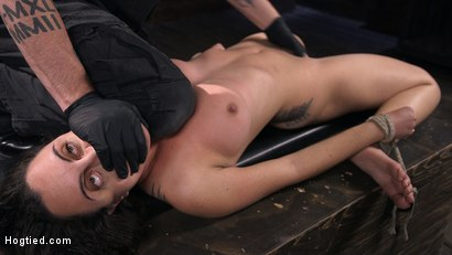 Photo number 11 from Roxanne Rae is Back to Suffer for The Pope shot for Hogtied on Kink.com. Featuring The Pope and Roxanne Rae in hardcore BDSM & Fetish porn.