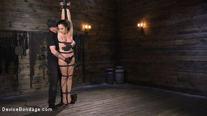 Photo number 16 from Careful What You Wish For shot for Device Bondage on Kink.com. Featuring The Pope and Roxanne Rae in hardcore BDSM & Fetish porn.