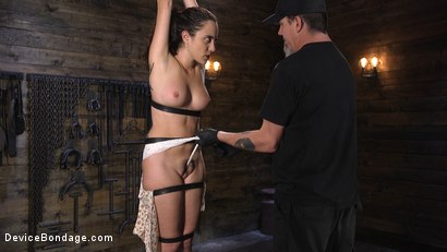 Photo number 4 from Careful What You Wish For shot for Device Bondage on Kink.com. Featuring The Pope and Roxanne Rae in hardcore BDSM & Fetish porn.
