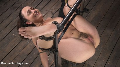 Photo number 6 from Careful What You Wish For shot for Device Bondage on Kink.com. Featuring The Pope and Roxanne Rae in hardcore BDSM & Fetish porn.