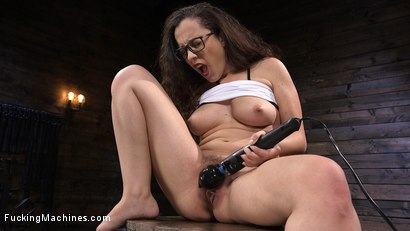 Photo number 3 from Sexy college brat gets her brains fucked out shot for Fucking Machines on Kink.com. Featuring Roxanne Rae in hardcore BDSM & Fetish porn.