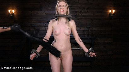 Photo number 1 from Fresh Meat: Violet October Gets the Full Treatment shot for Device Bondage on Kink.com. Featuring The Pope and Violet October in hardcore BDSM & Fetish porn.