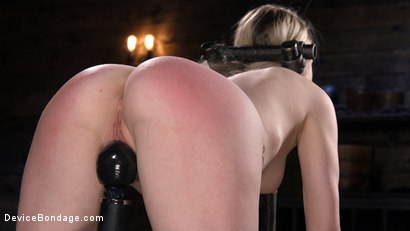 Photo number 6 from Fresh Meat: Violet October Gets the Full Treatment shot for Device Bondage on Kink.com. Featuring The Pope and Violet October in hardcore BDSM & Fetish porn.