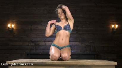 Photo number 10 from Toned and Fit Babe Gets Fucked Into Massive Orgasms shot for Fucking Machines on Kink.com. Featuring Cheyenne Jewel in hardcore BDSM & Fetish porn.