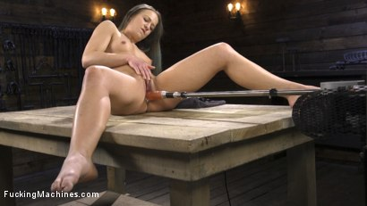 Photo number 15 from Toned and Fit Babe Gets Fucked Into Massive Orgasms shot for Fucking Machines on Kink.com. Featuring Cheyenne Jewel in hardcore BDSM & Fetish porn.