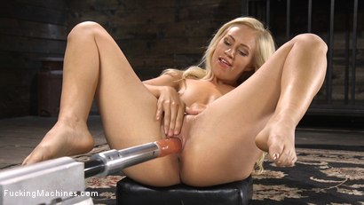 Photo number 1 from Sexy As Fuck Blonde Babe is Machine Fucked shot for Fucking Machines on Kink.com. Featuring Lyra Law in hardcore BDSM & Fetish porn.