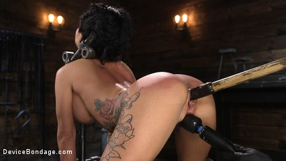 Photo number 4 from Tattooed Slut Lily Lane In Diabolical Bondage and Suffering shot for Device Bondage on Kink.com. Featuring The Pope and Lily Lane in hardcore BDSM & Fetish porn.