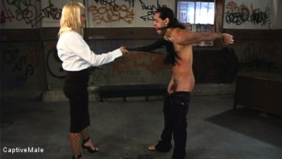 Photo number 1 from Miss Star's Student Gets a Hard Lesson shot for Captive Male on Kink.com. Featuring Dax Star and Xana Star in hardcore BDSM & Fetish porn.