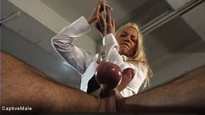Photo number 3 from Miss Star's Student Gets a Hard Lesson shot for Captive Male on Kink.com. Featuring Dax Star and Xana Star in hardcore BDSM & Fetish porn.