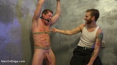 Photo number 12 from All-American Stud Pierce Paris Gets Edged and Fisted by Border Patrol shot for Men On Edge on Kink.com. Featuring Pierce Paris in hardcore BDSM & Fetish porn.