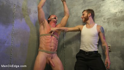 submissive stud gets fisted